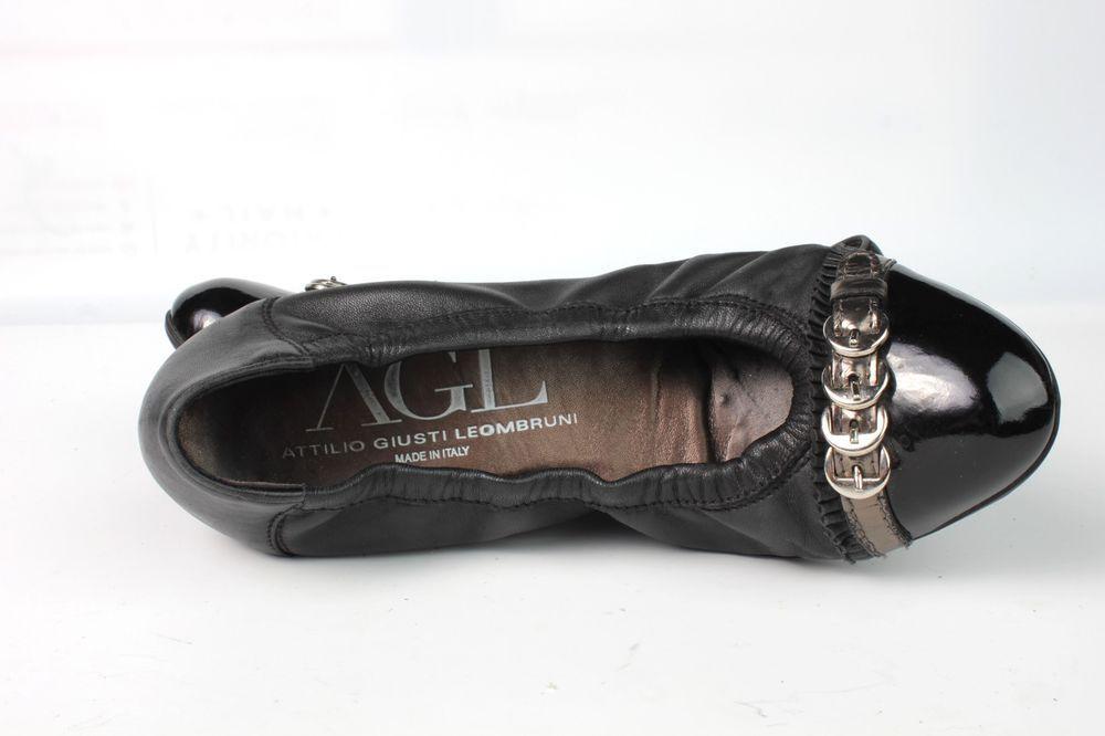 AGL 7.5 Attilio Ballet Giusti Leombruni Toe Cap Updated Ballerina Ballet Attilio 32bde4
