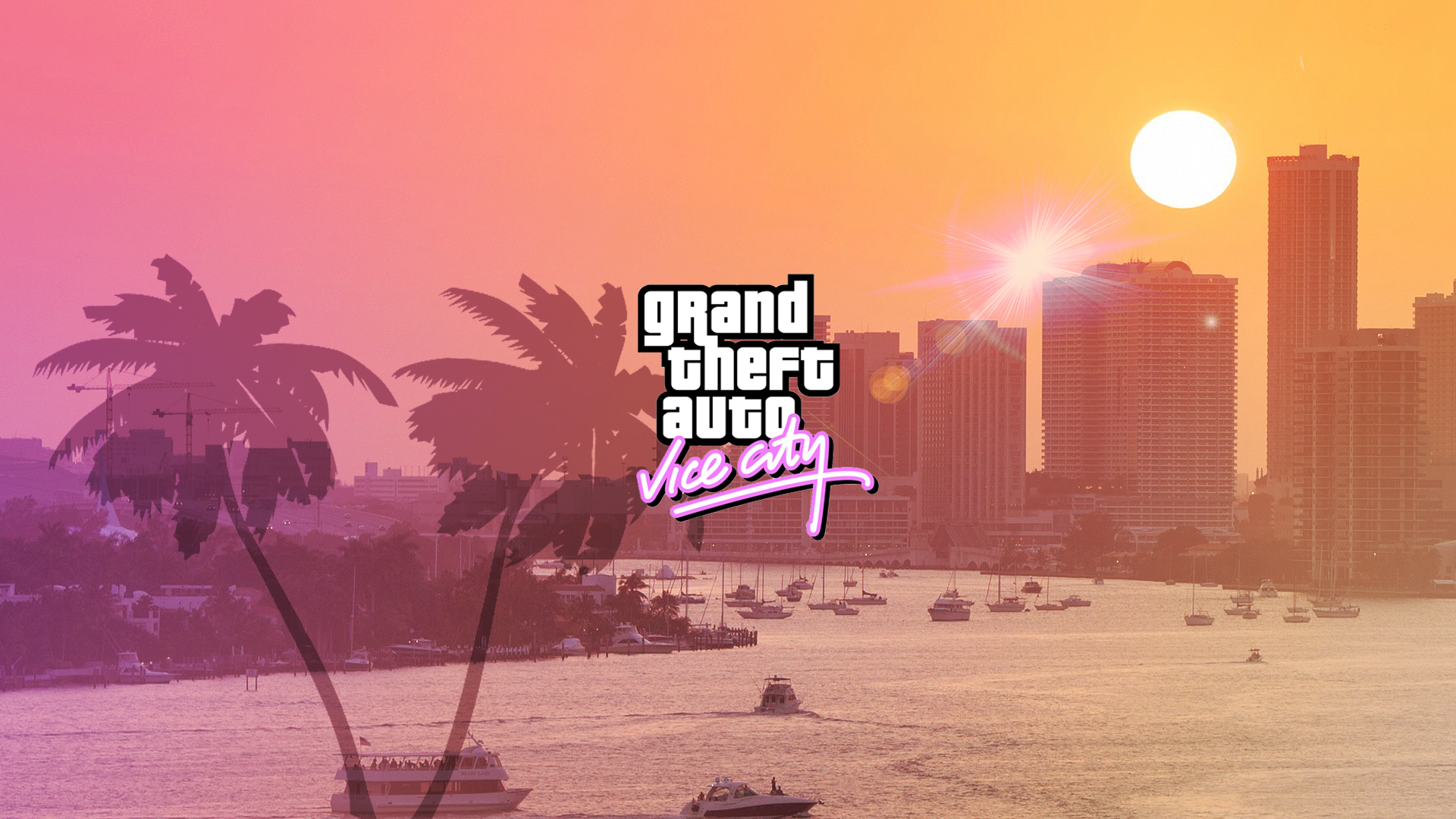 Gta Vice City Full Hd Pc Wallpaper Grand Theft Auto Grand Theft Auto Series Gta