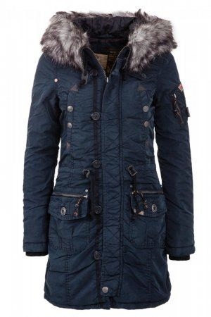 Khujo Winter Coat Claire Navy This is my Jacket!! | Clothes