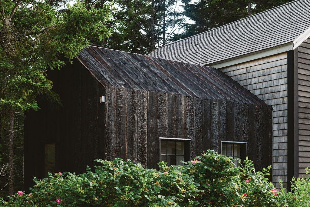 Shou Sugi Ban In Photos Architecture Pinterest Wood