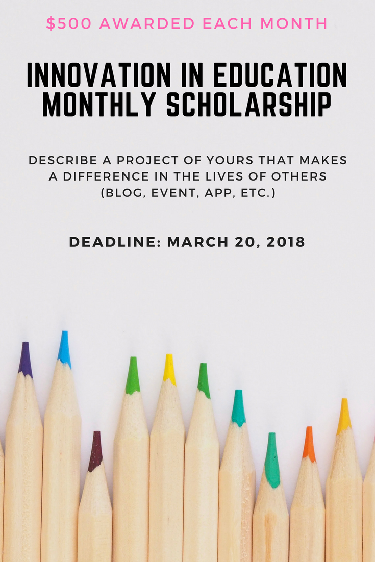 La Tutors Gives Away 500 Monthly To Creative Students Who Strive To Make A Difference In The Li Scholarships Financial Aid For College College Freshman Advice