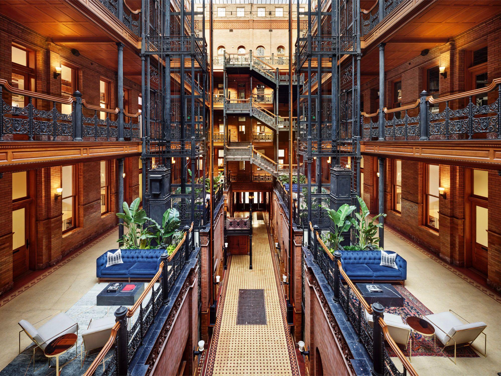 NeueHouse Bradbury in 2020 Architecture, Bradbury