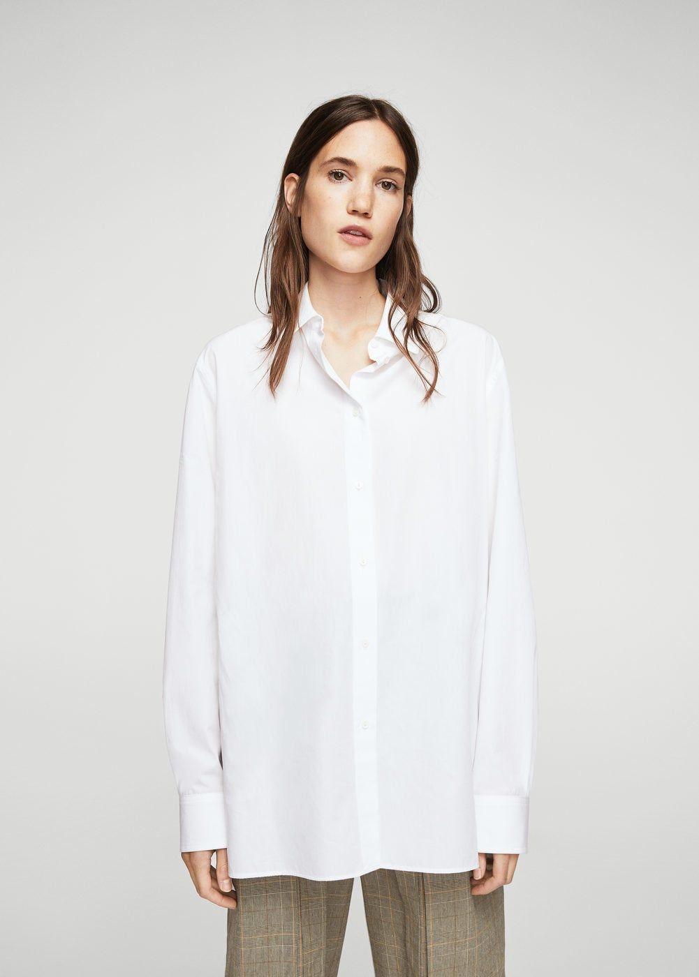 oversized overhemd dames