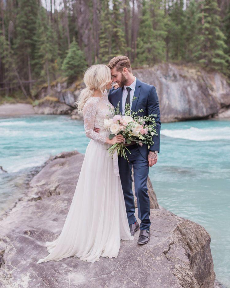 Emerald Lake Lodge Mountain Wedding Elope wedding