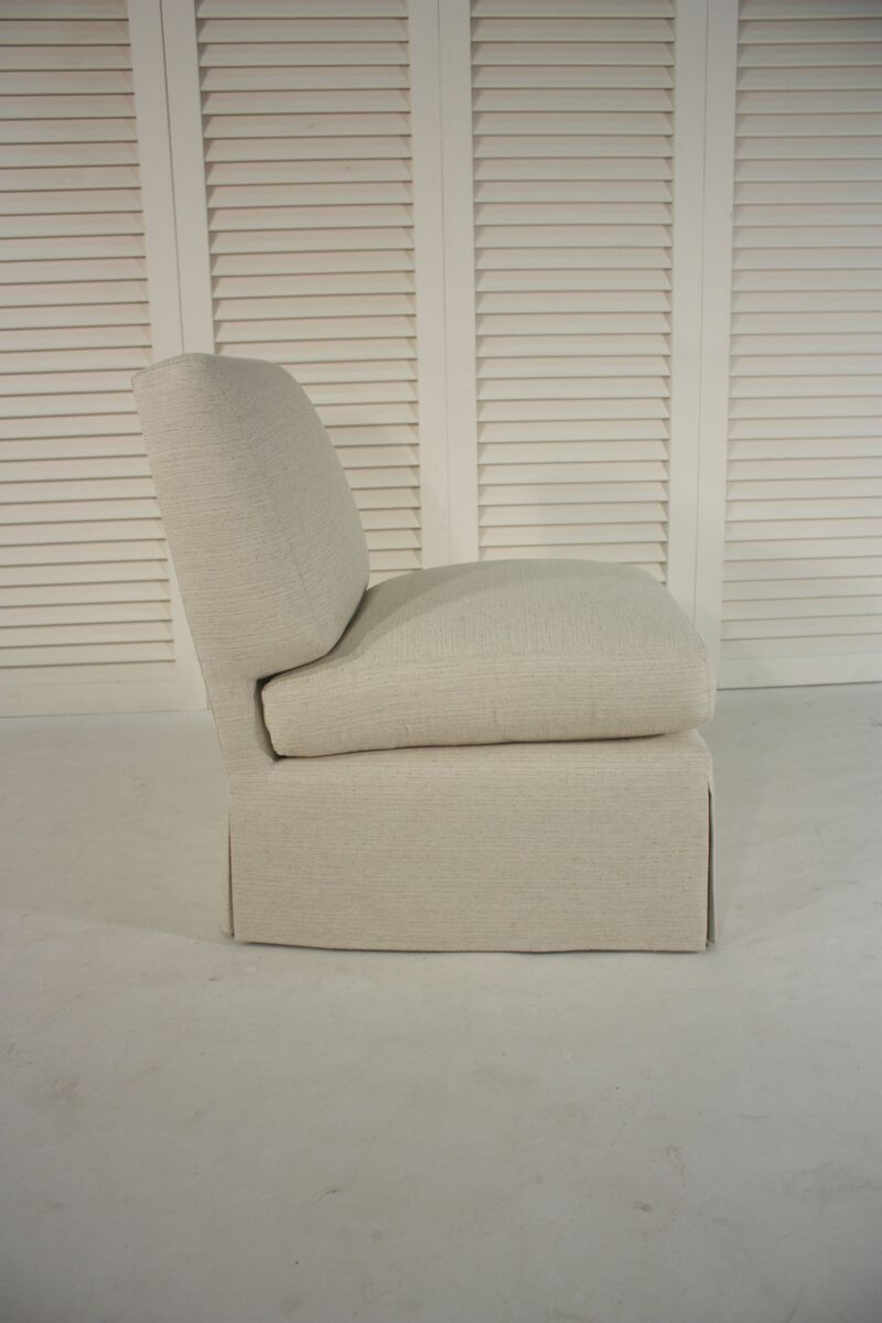 Slipper Chair Inspired By A Billy Baldwin Slipper Chair 2