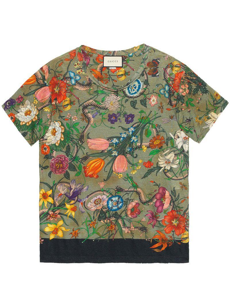 036be2408 GUCCI . #gucci #cloth #   Gucci in 2019   Mens printed shirts, Linen ...