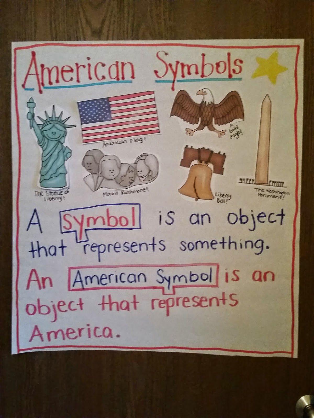 American Symbols | Freebies, Kindergarten und Kind