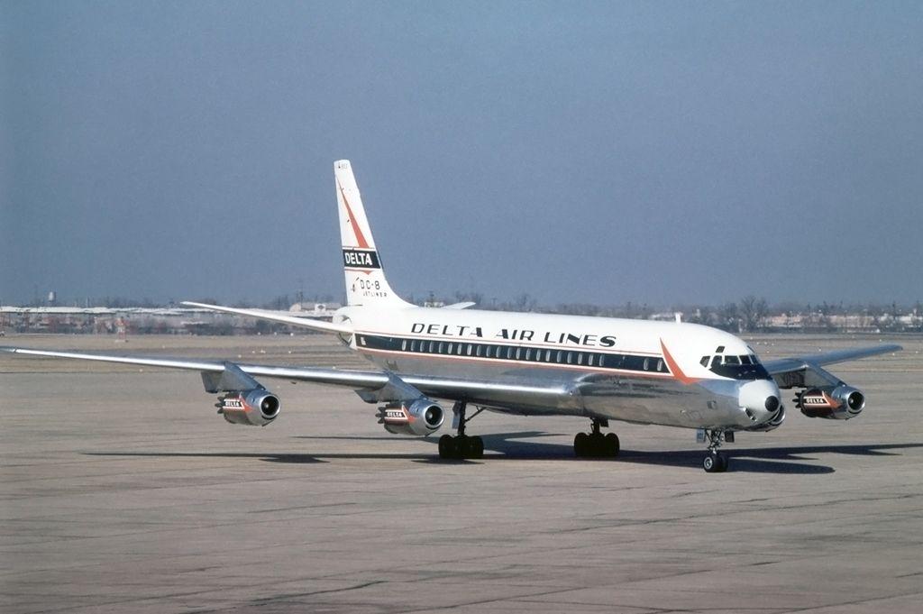Douglas DC811 (1959) Douglas dc 8, Vintage aircraft