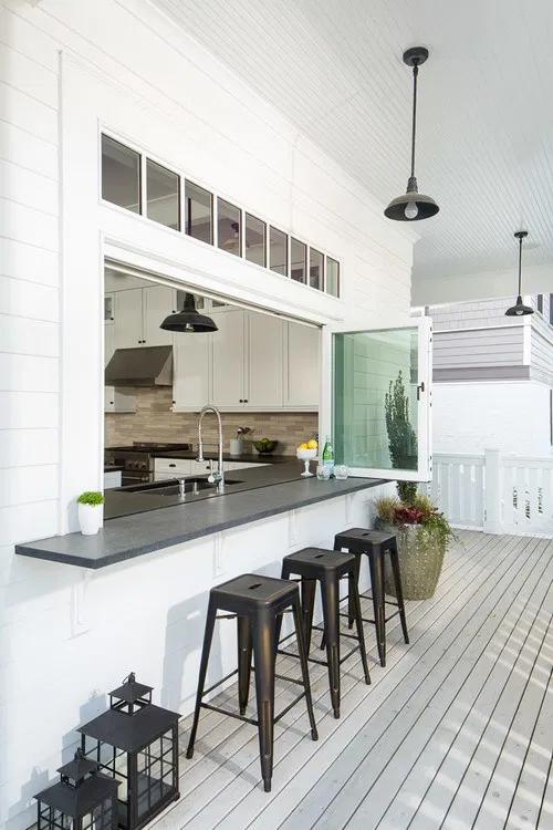 Weekend Design: 5 Ways to Make a Pass-Through Kitchen Window Work