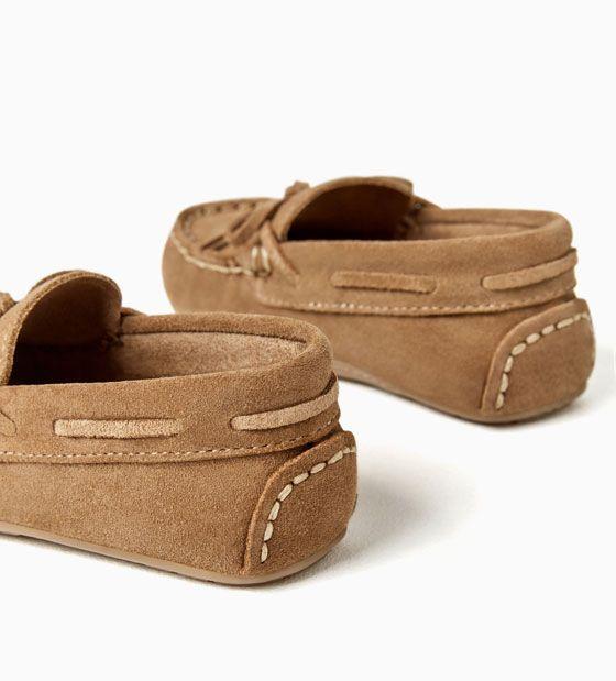 talla 40 4448a 212d0 Imagen 7 de MOCASÍN PIEL de Zara | calzado para niños ...