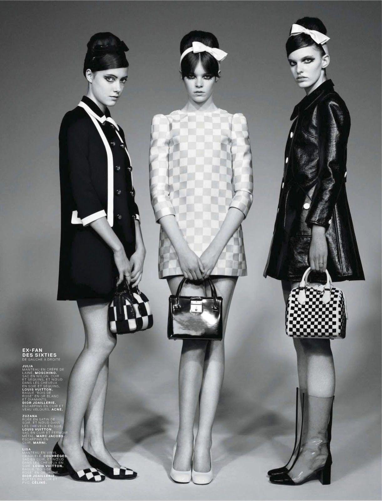 Gorgeous Little Things Dotty Cotton Mode 60ies Fashion 60er