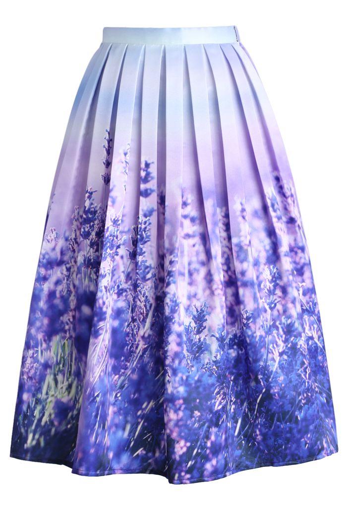 endless lavender romance pleated midi skirt skirt buy 1