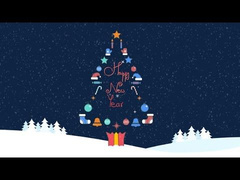 Christmas Logo After Effects Template Christmas Illustration Christmas Templates After Effects Projects