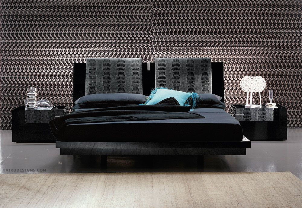 Best The Luxor Platform Bed Furniture Collection Though 400 x 300