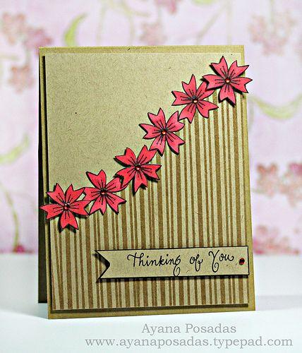 Thinking of You manualidades creativas Pinterest Tarjetas - tarjetas creativas