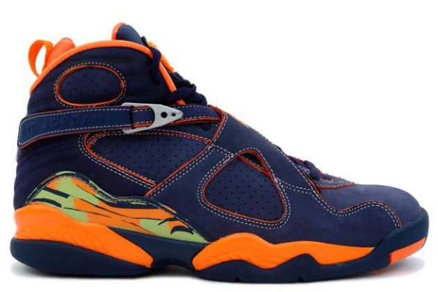 0b628feaf05 Air Jordan 8 Retro LS - Pea Pods - Midnight Navy Orange Blaze - Pea Pod Hot  sale $105:abshoes.net