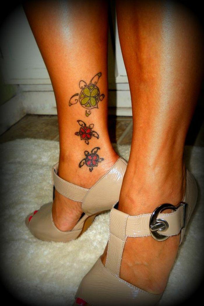 1001 Idees Magnifiques Pour Votre Tatouage Tortue Shoes Tattoos