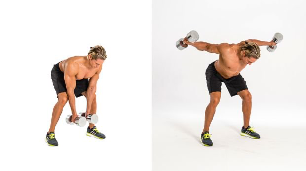 The 4-Week Dumbbell Workout Plan Part 1: Chest And Back #dumbbellworkout