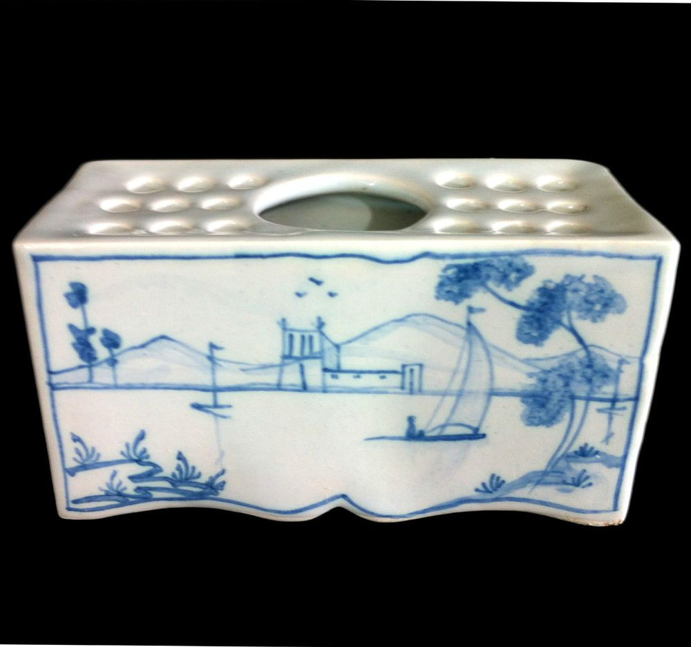 Sears Bathroom Accessories Deborah Sears Isis Pottery Oxford England Stunning Delft Style