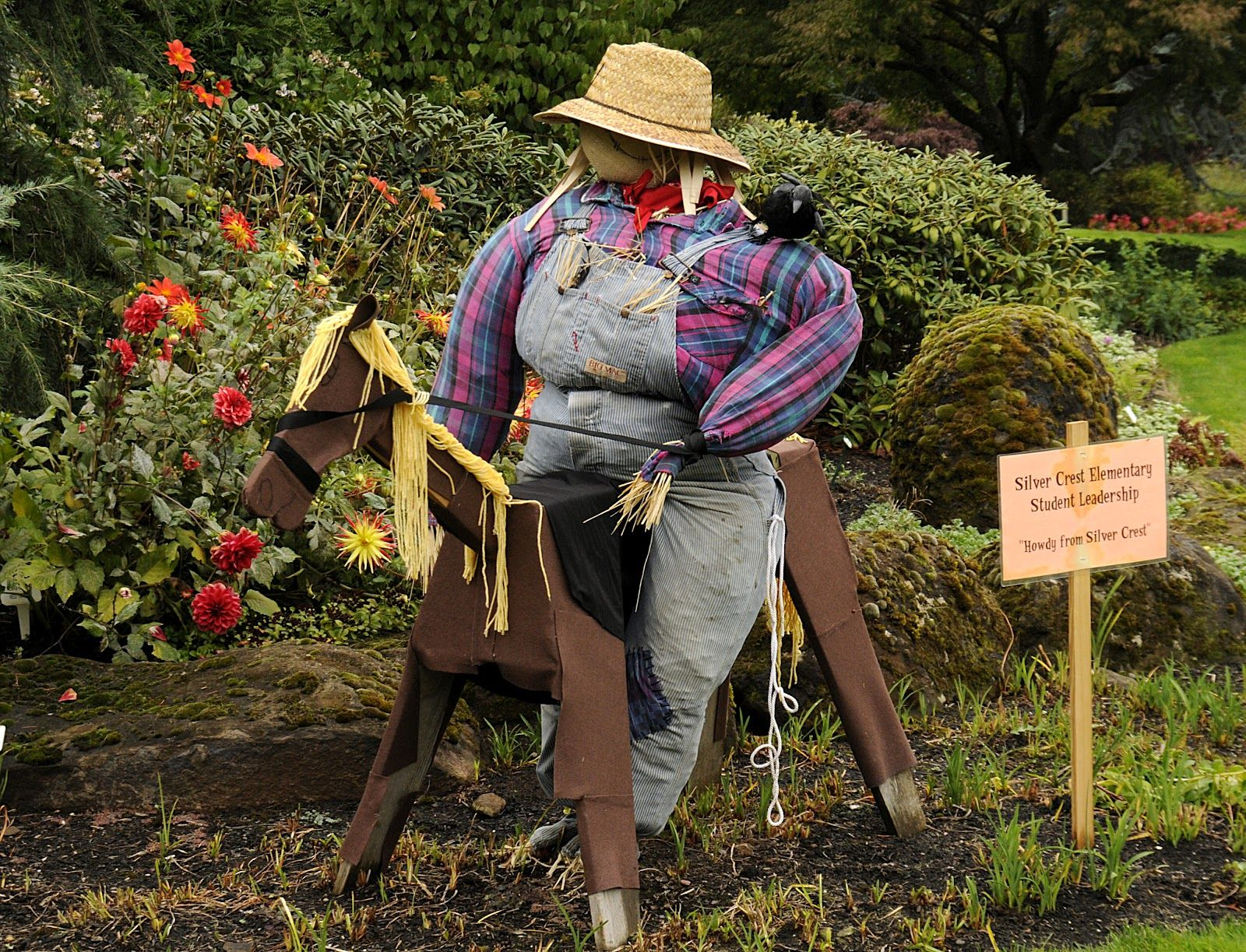 Pin by The Oregon Garden & Resort on Scarecrows in the Garden Event ...