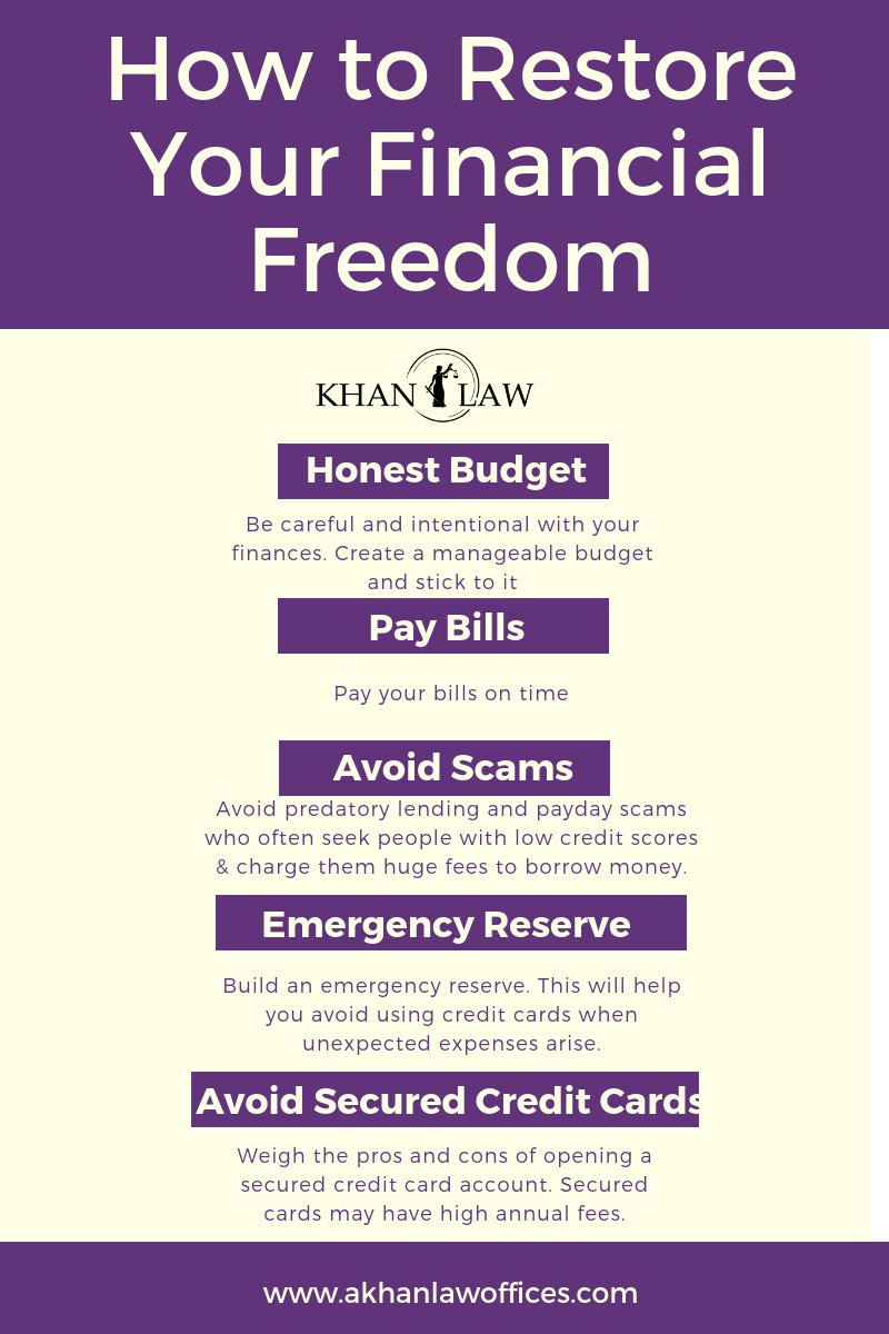 Rumor Vs Fact The Truths Behind Filing For Bankruptcy Financial Freedom Good Credit Paying Bills
