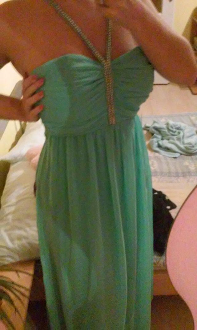 Prodám Krásné plesové šaty  5f4ec34a356