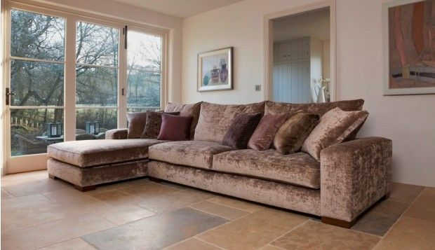 Wychwood Grand Sofa With Chaise In The Oneda Collection