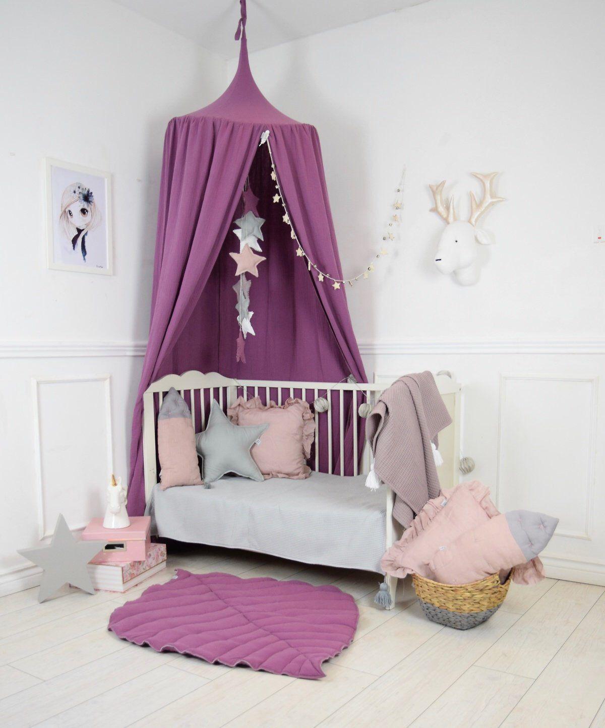 Play Canopy Blueberry Baldachin Nursery Canopy Hanging Play Tent