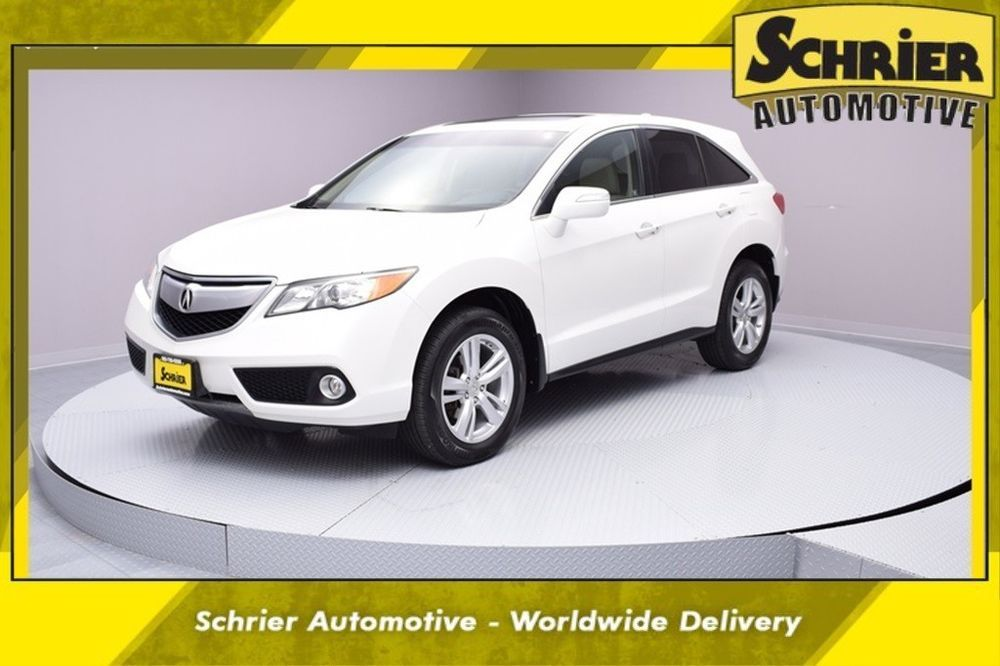 2013 Acura Rdx Technology Package 2013 Acura Rdx Technology Package 49 294 Miles White Diamond Pearl 4d Sport Util Technology Package Acura Rdx Acura