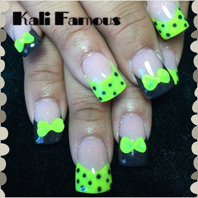 kalifamous #acrylicnails #nailart #nailjunkie #nails2inspire ...
