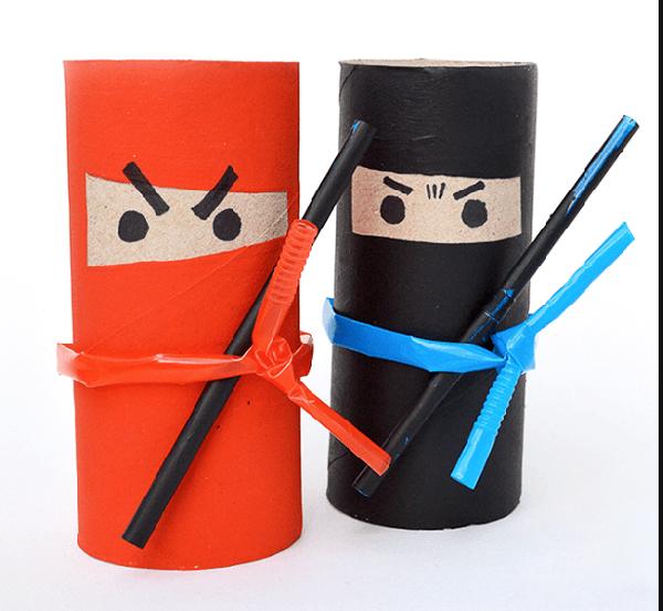 Verwonderend Knutselen met wc-rolletjes - inspiraties | Kind knutselen US-21