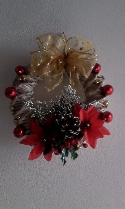 252bb3506 vianočný veniec   moja praca