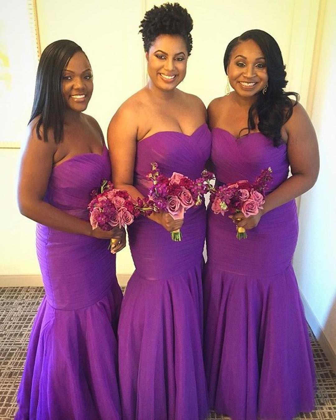 Pin by The Coordinated Bride Wedding Blog on Bridesmaids | Pinterest ...