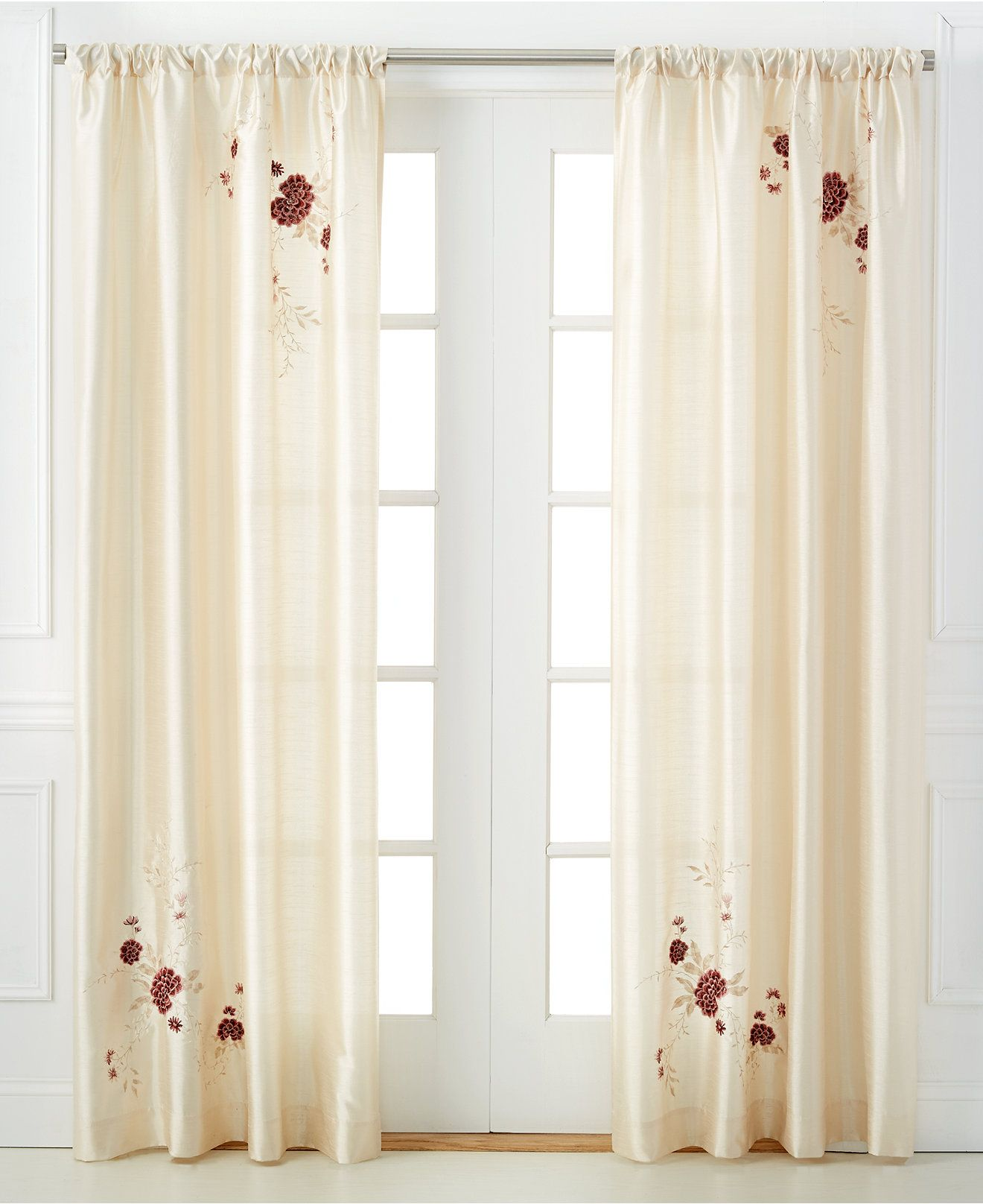 Macys Curtains For Living Room Chf Peri Alessandra Window Treatment Collection Curtains