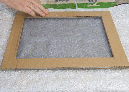 Marco sencillo para cuadro de carton buscar con google - Como hacer un marco para un cuadro ...