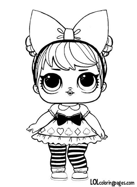 Desenhos para colorir | bonecas lol de feltro com moldes | Pinterest