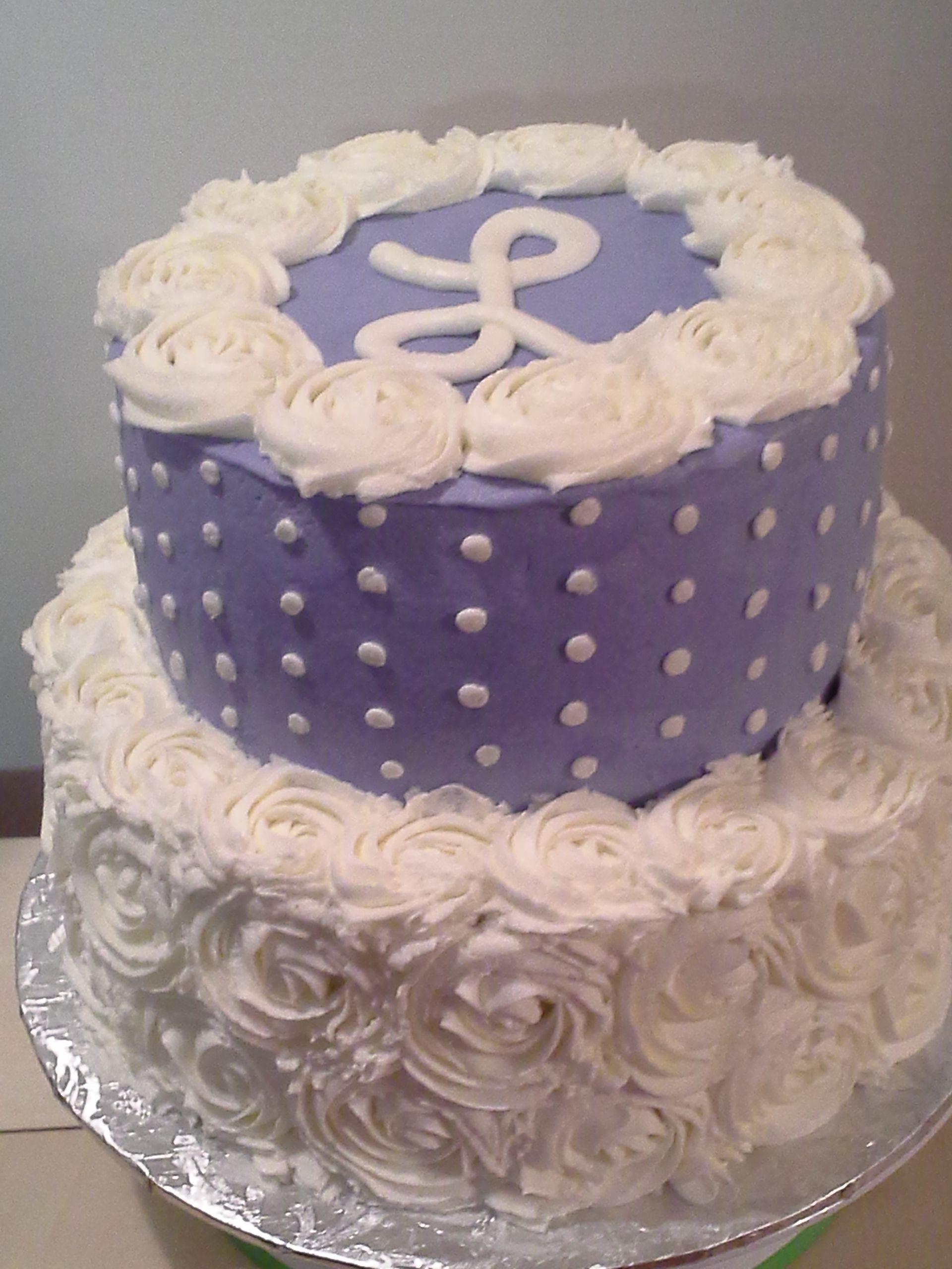 "Round Wedding Cakes - 10 & 8"" small wedding cake. First ..."