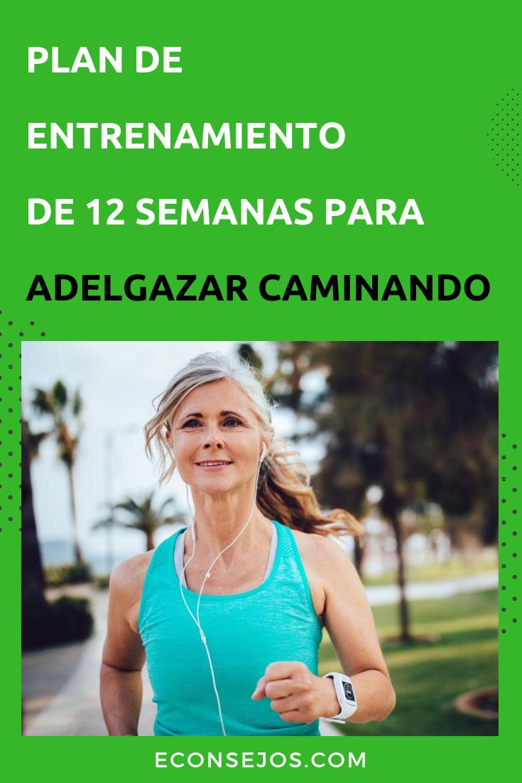 Plan de entrenamiento perdida de peso