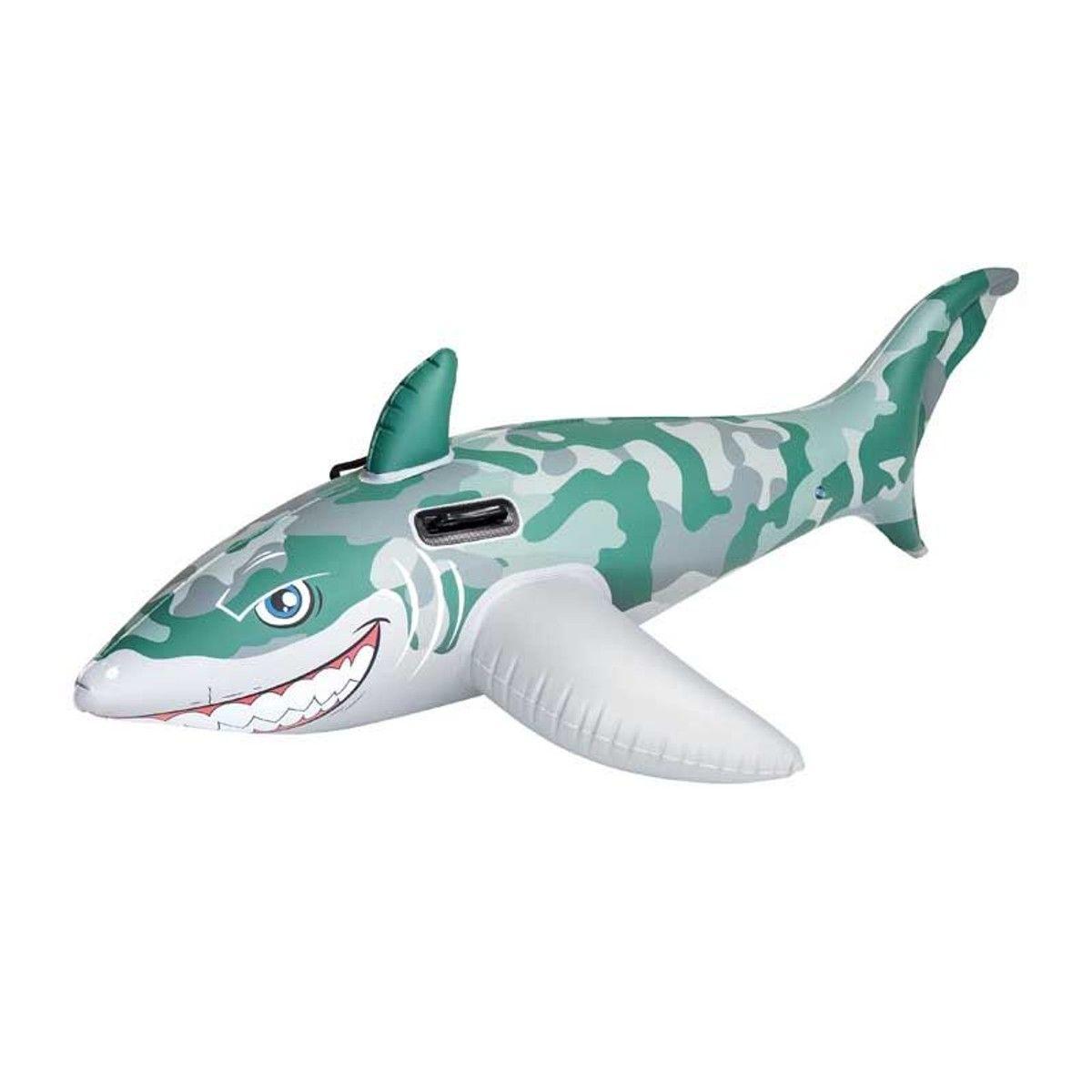 Chevaucha Requin Armee 183x102 Piscine Gonflable Jouets