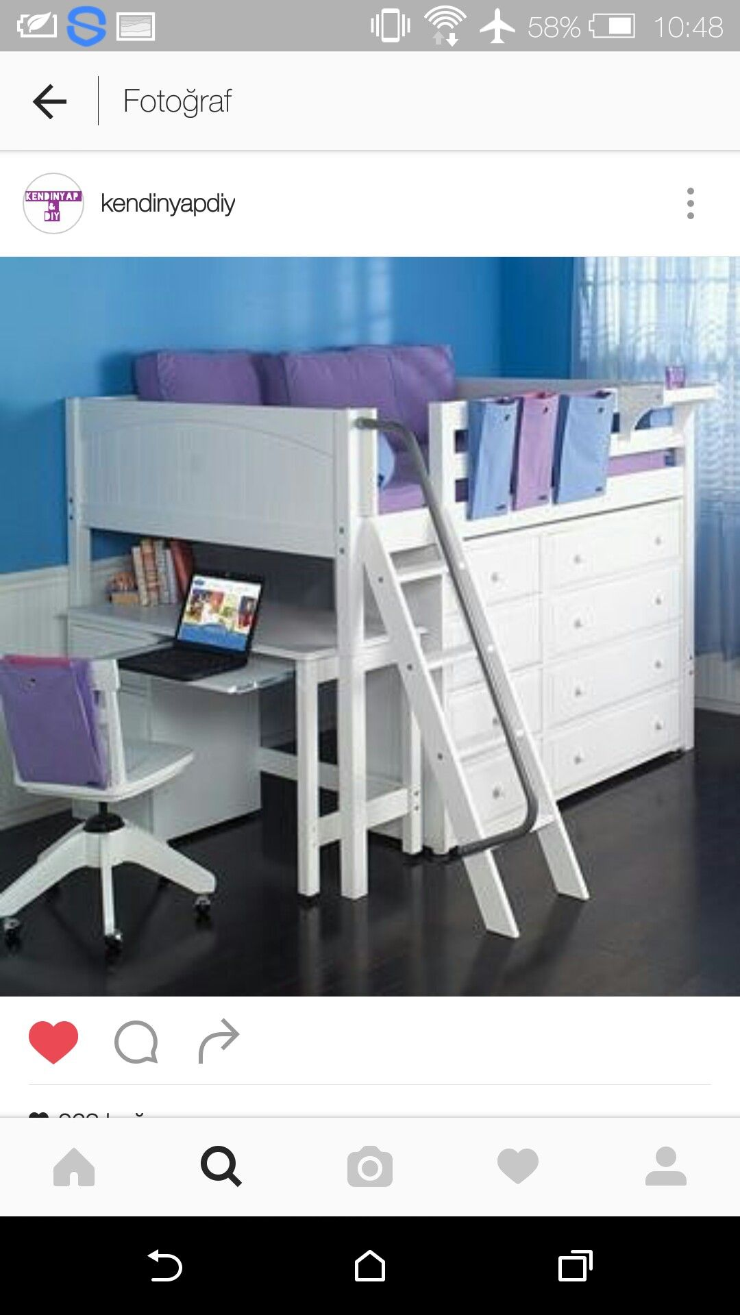 Small loft bed ideas  Pin by Mia Brady on Mia  Pinterest  Room Room ideas and Kids rooms