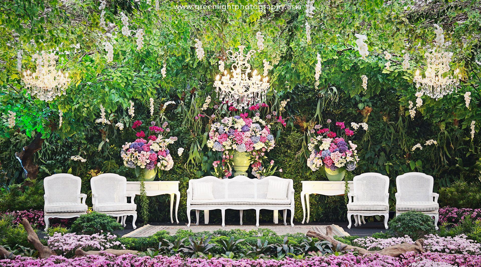 Secret Garden Wedding at Pondok Indah Lestari - Decoration_Aji ...