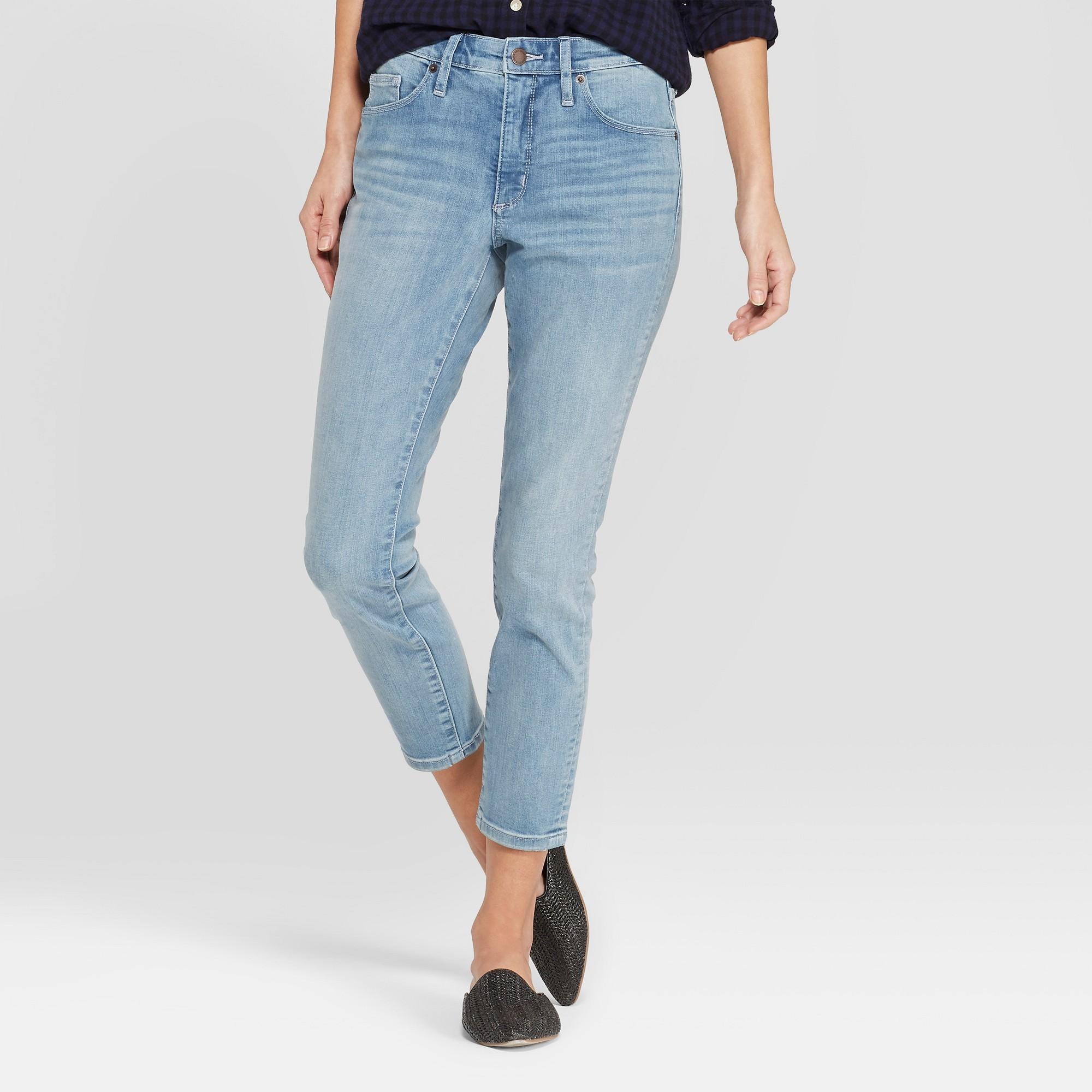 4da67654b39 Women s High-Rise Skinny Crop Jeans - Universal Thread Dark Wash 12 ...