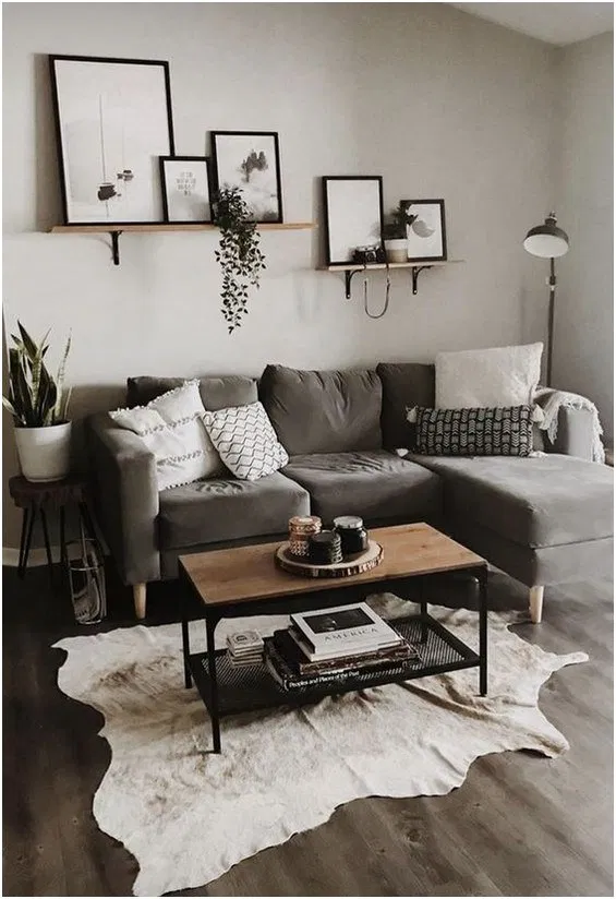28 Comfy Small Apartment Living Room Decorating Ideas On A Budget 8 Home Sweet H Living Room Decor Apartment Grey Couch Living Room Living Room On A Budget