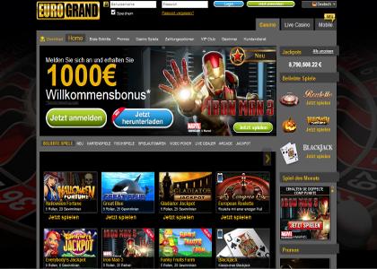 Eurogrand Casino Probleme Auszahlung