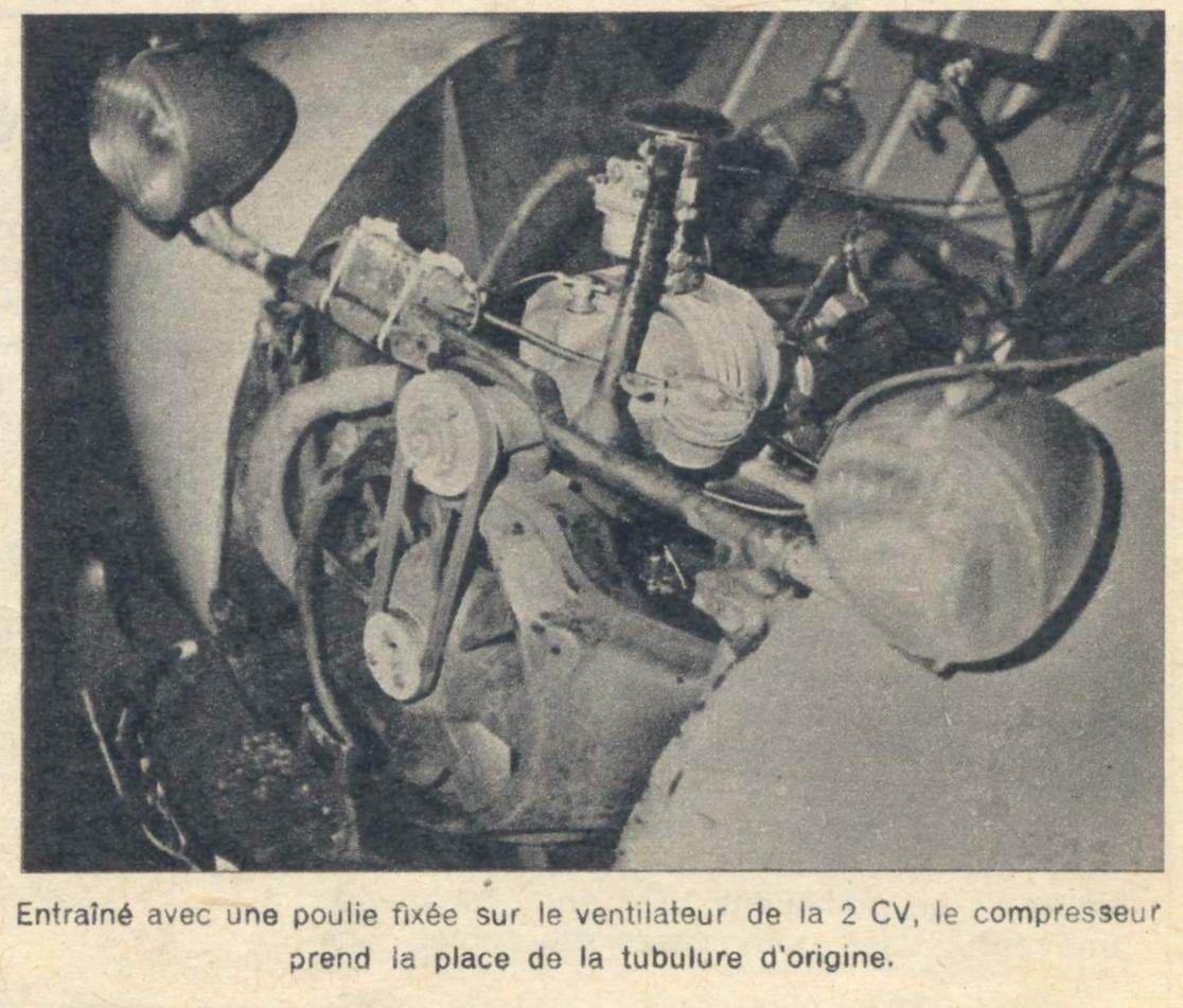 Compresseur Volumetrique Constantin Sur 2cv 2cv 2cv Citroen Compresseur