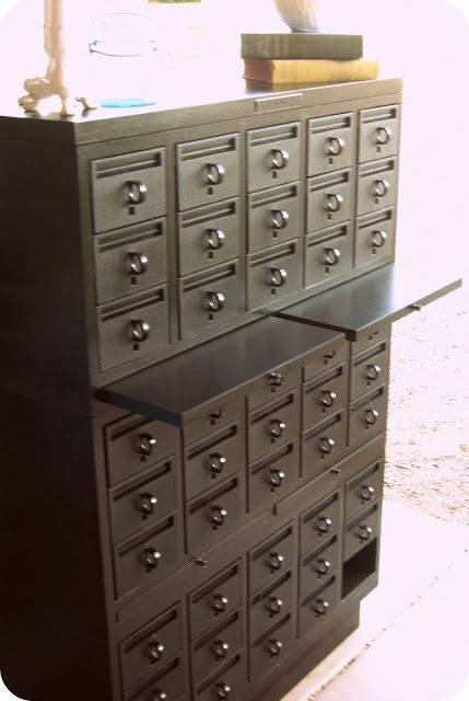 Card Catalog Makeover