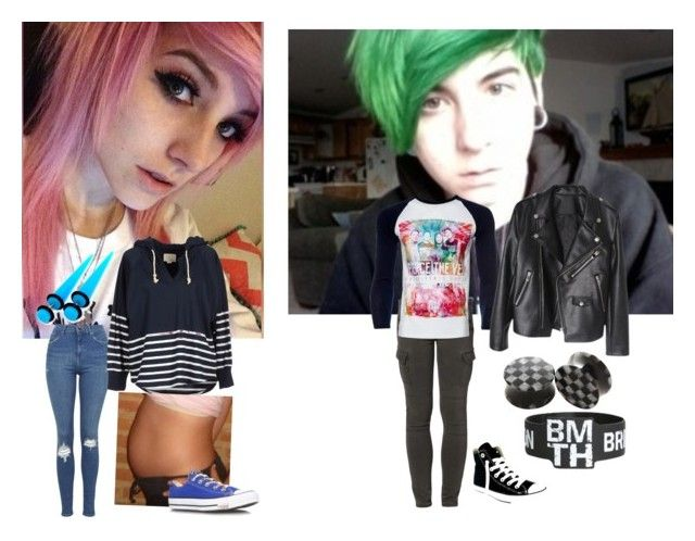 """""""Filming For MDE -Andrew"""" by musicobsessed1418 ❤ liked on Polyvore featuring Liebeskind, Topshop, Band of Outsiders, Converse, women's clothing, women's fashion, women, female, woman and misses"""