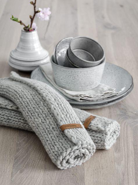 DIY | Fabriquez vous-même des sets de table en tricot – MXLiving   – Zukünftige Projekte