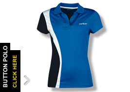 BN Mens CARLTON Sports Polo Tournament Shirt top Badminton Squash Medium M NEW