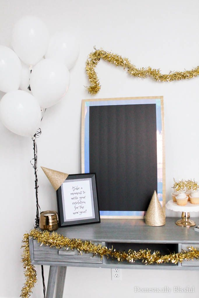 5 Easy Tips for Decorating a New Years Eve Party | Easy